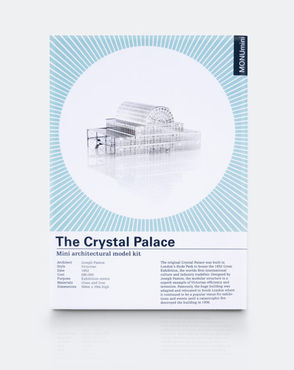 The Crystal Palace   Mini Architectural Model Kit