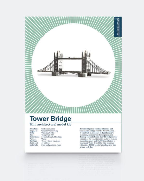 Tower Bridge | Mini Architectural Model Kit