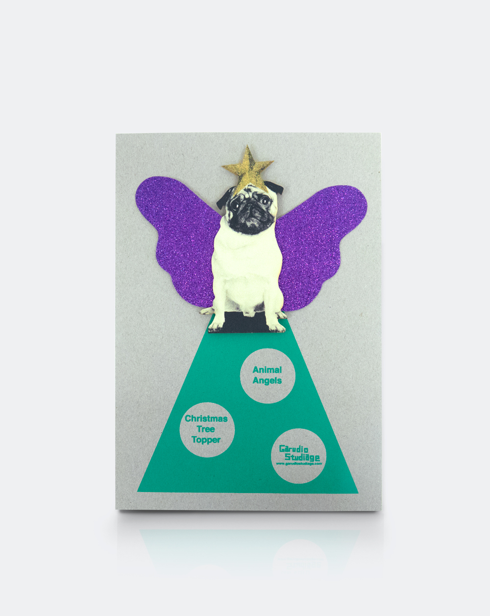 Pug Tree Topper Design Collective Gifts