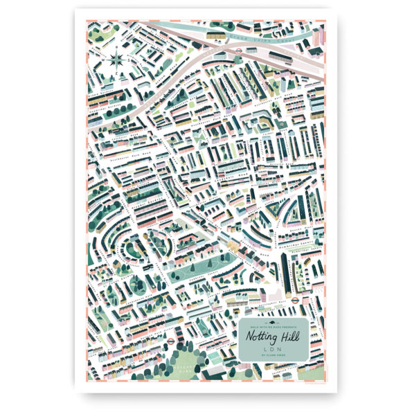 Notting Hill walk with me map